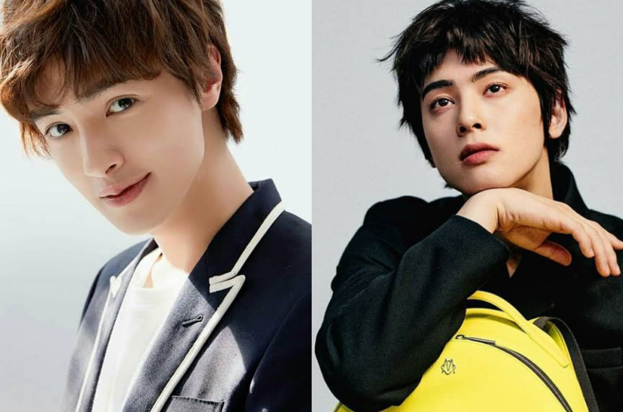 Darren Chen and Cha Eun Woo