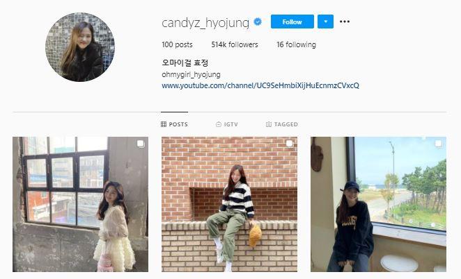 via IG @candyz_hyojung