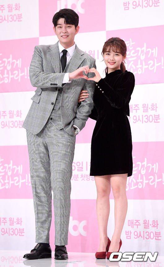 Jang Sun Gyeol and Gil Oh Sol