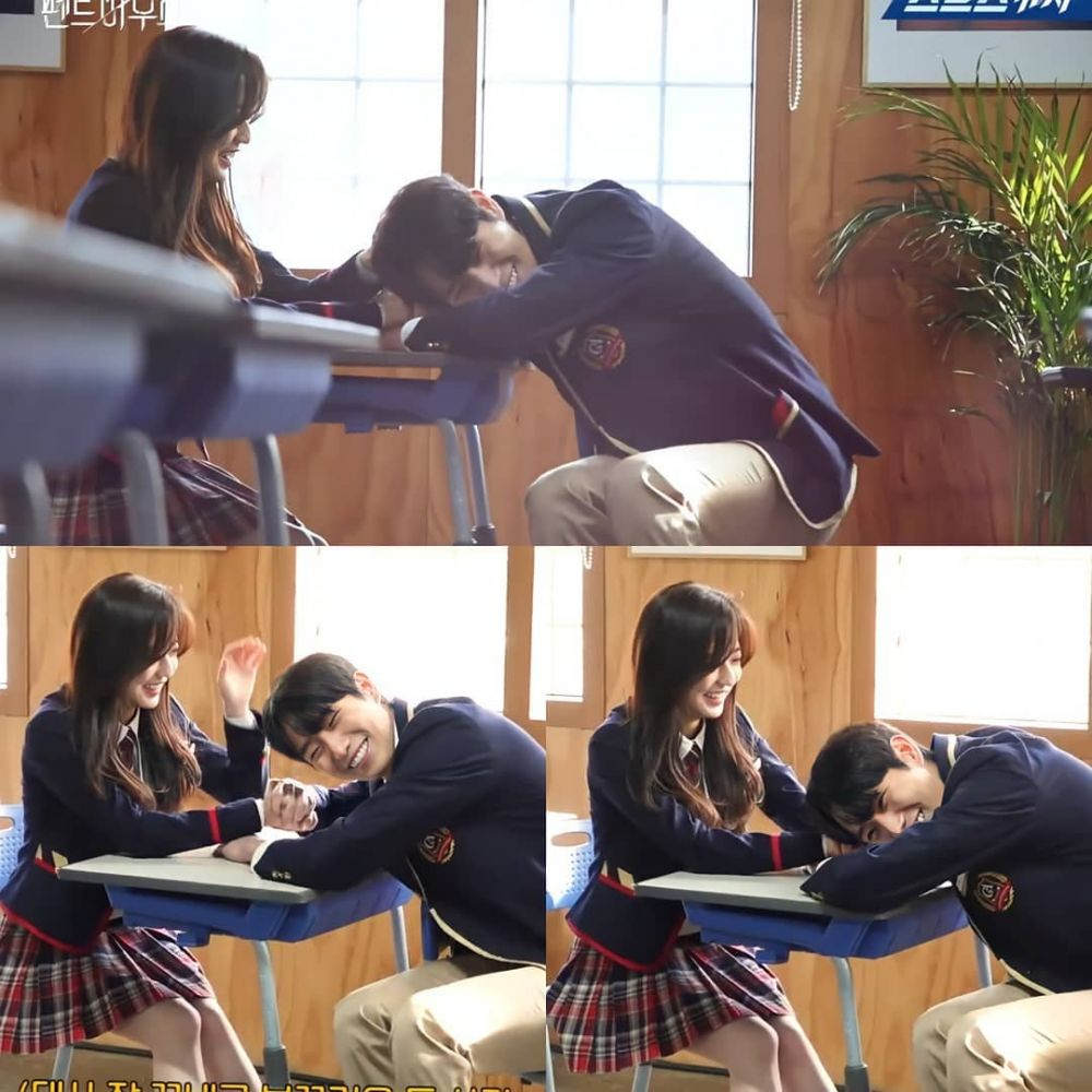 The cutest couple in Penthouse, Kim Hyun Soo and Kim Young Dae, too cute make fans wanted them to be a real couple. 8