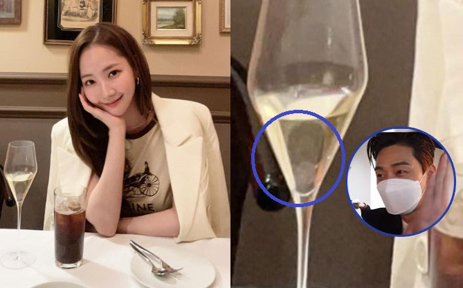"""The couple """"What's Wrong with Secretary Kim?"""" Park Min Young and Park Seo Joon continue to explode dating rumors after the new photo went viral!"""