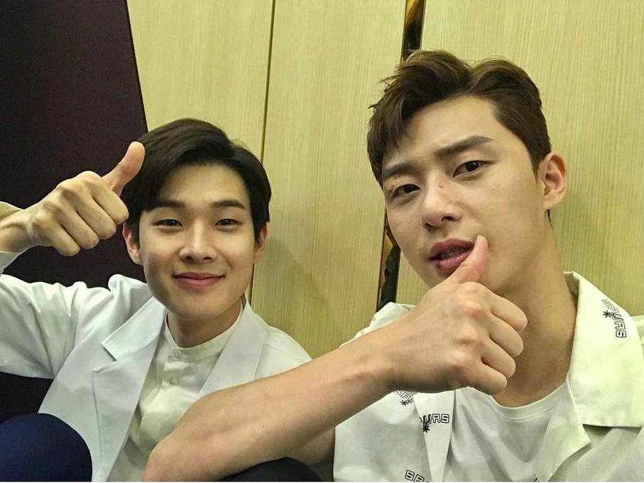 Park Seo Joon and Choi Woo Shik