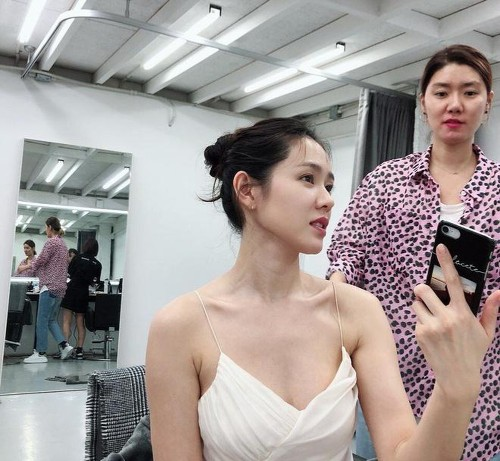 Son Ye Jin can't have short hairstyles