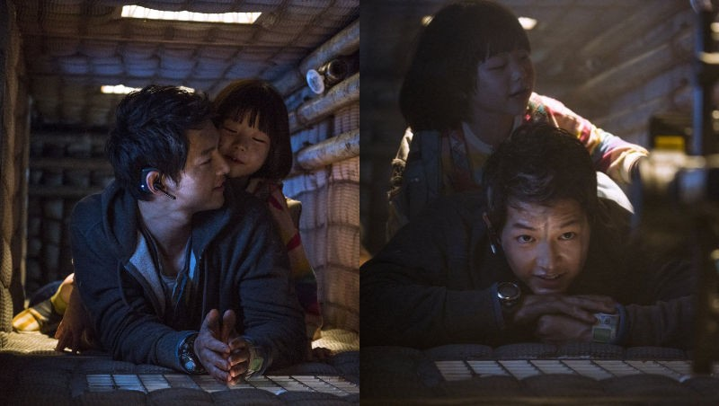 Song Joong Ki proves his love for children when spotted loving, caring and playing with child actress Park Ye-rin during shooting 1