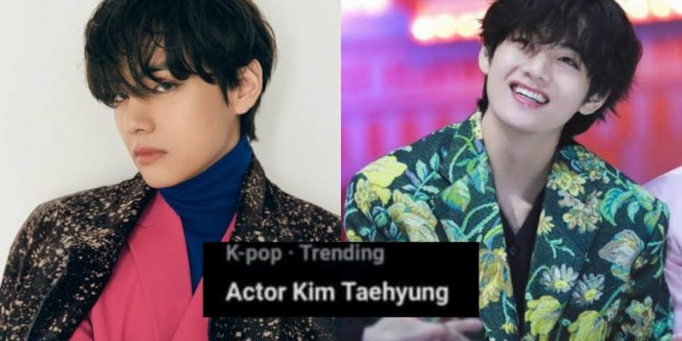 The whole world wants to see Actor Taehyung!.