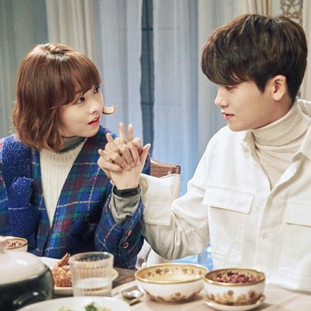 Ahn Min Hyuk and Do Bong Soon of Strong Woman Do Bong Soon