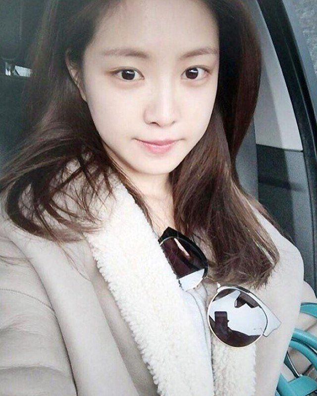 Apink Naeun Bareface