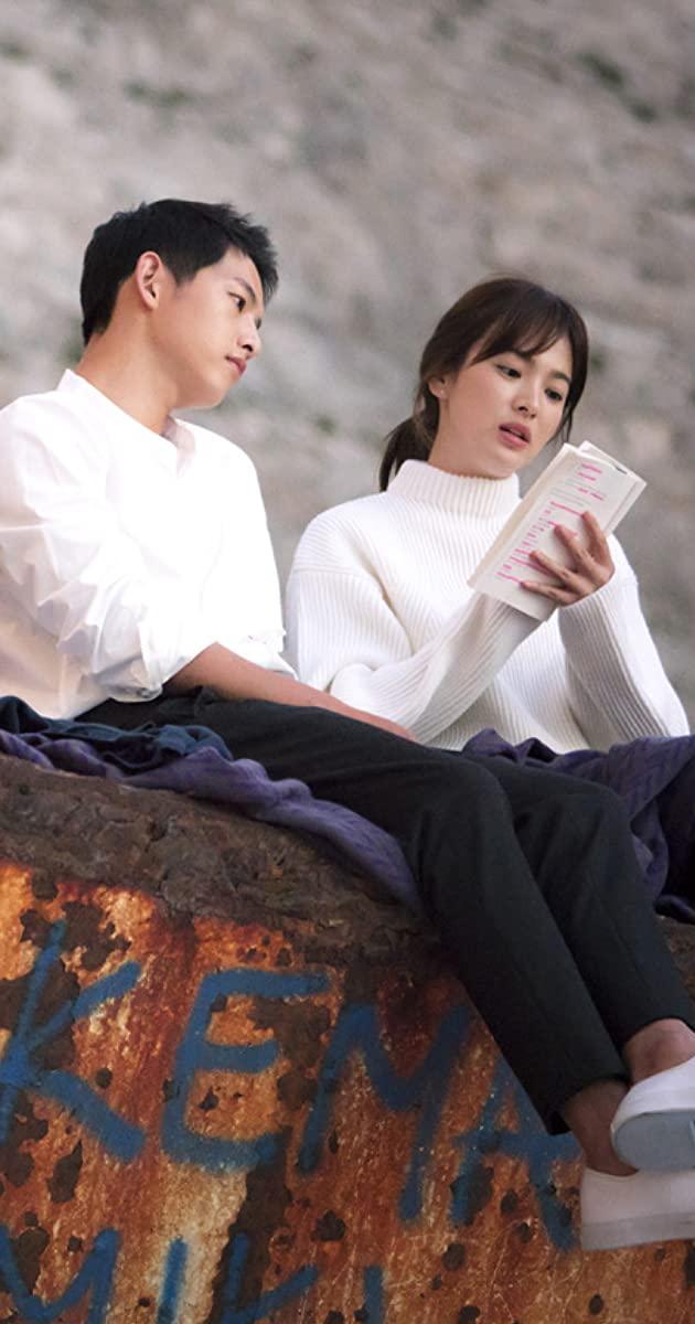 Yoo Shi Jin and Kang Mo Yeon of Descendants of the Sun