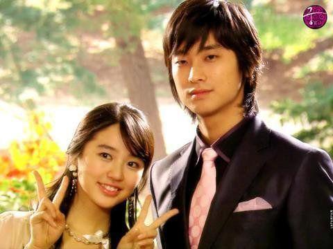 Yoon Eun Hye and Ju Ji Hoon (Princess Hours)