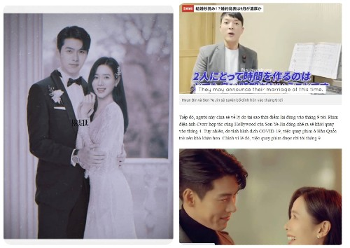 Vietnamese media reported that Son Ye Jin and Hyun Bin will announce their engagement in September?