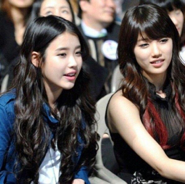 IU and Bae Suzy