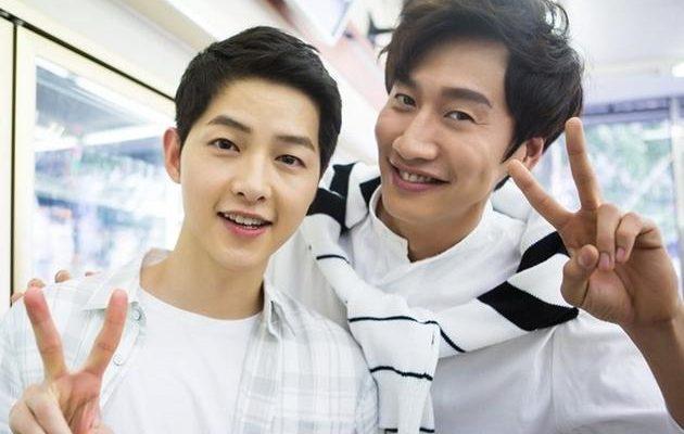 Song Joong Ki and Lee Kwang Soo