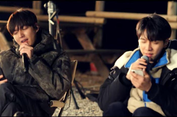 Lee Min Ho and Lee Seung Gi
