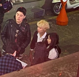 Park Ji Hoon and Lee Wooje