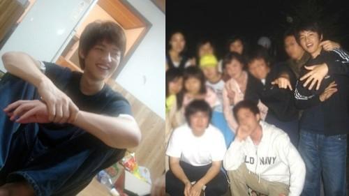 Song Joong Ki became a internet phenomenon after his college era photos went viral. 1