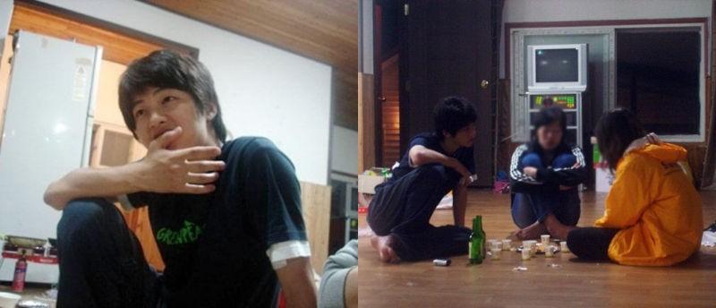 Song Joong Ki became a internet phenomenon after his college era photos went viral. 2
