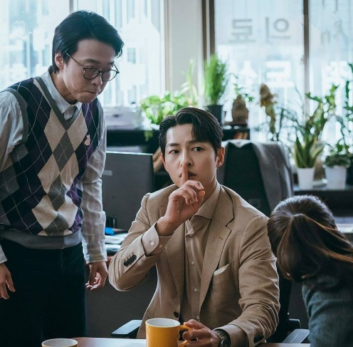 Song Joong Ki proves that he is the Fire of Vincenzo + Song Joong Ki is on another Level... 2