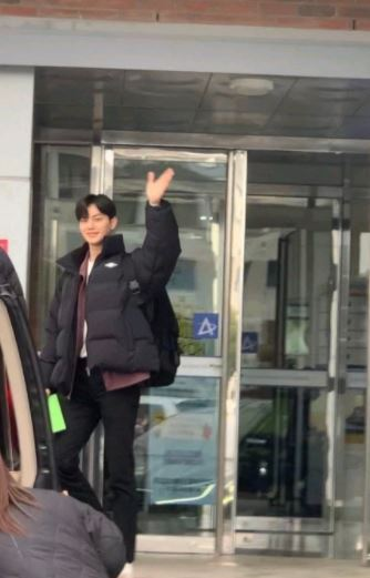 Song Kang Spotted Filming