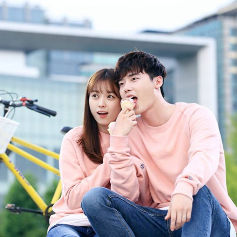 Kang Cheol and Oh Yeon Joo of W Two Worlds