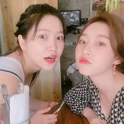 Kim Sae Ron and Kim Yerim (Yeri)