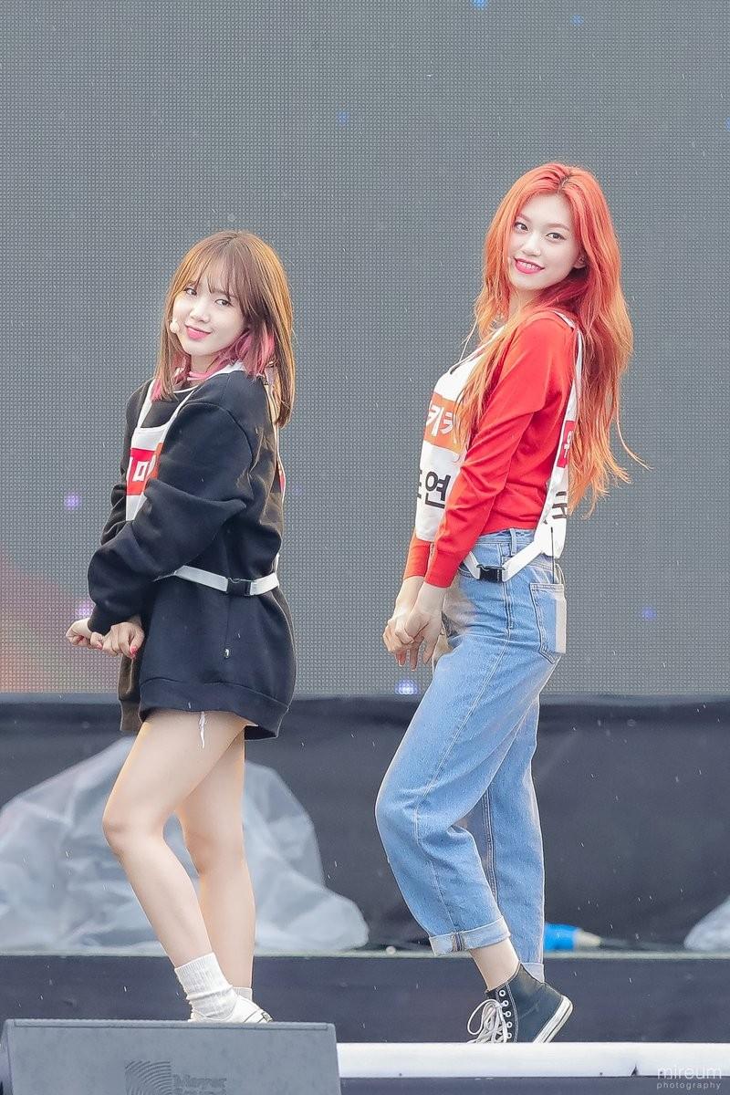 Weki Meki Doyeon and Yoojung
