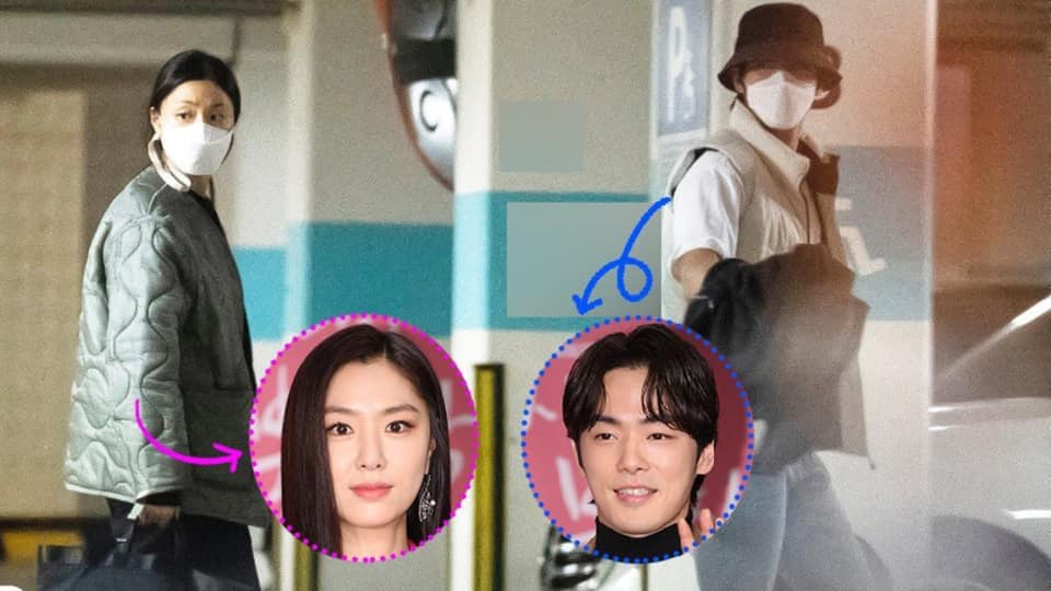 Dispatch releases photos of Seo Ji Hye and Kim Jung Hyun spotted Dating