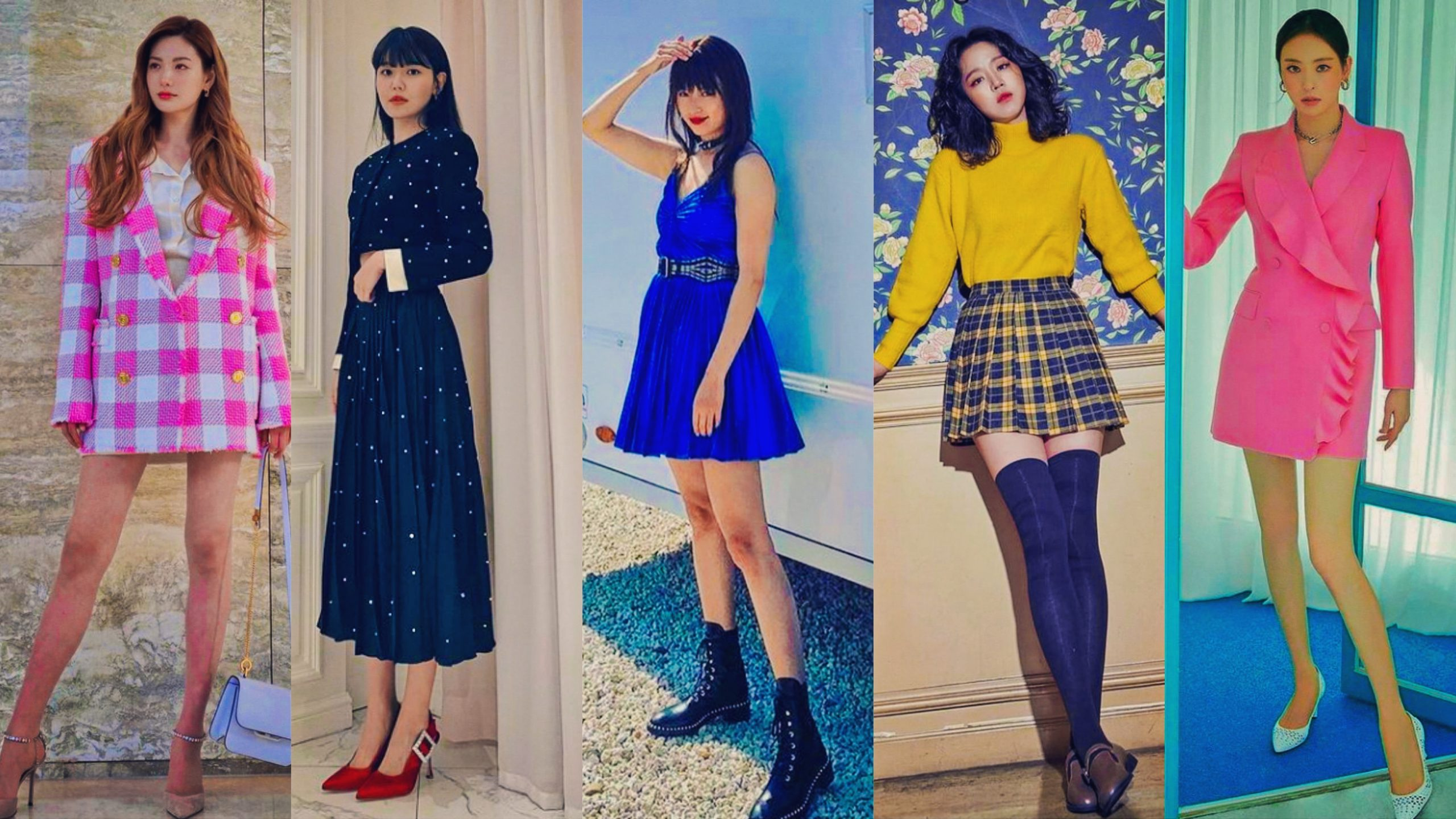 Korean Actresses With Long Legs Over 100cm