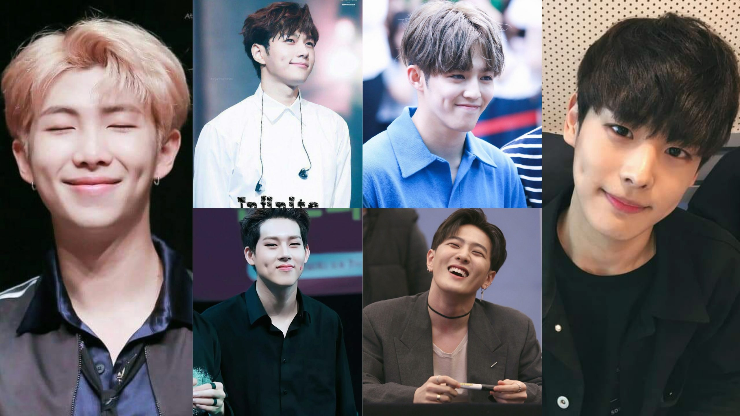 8 Popular Male Idols Who Look Absolutely Cute and Charming With Their Dimples;