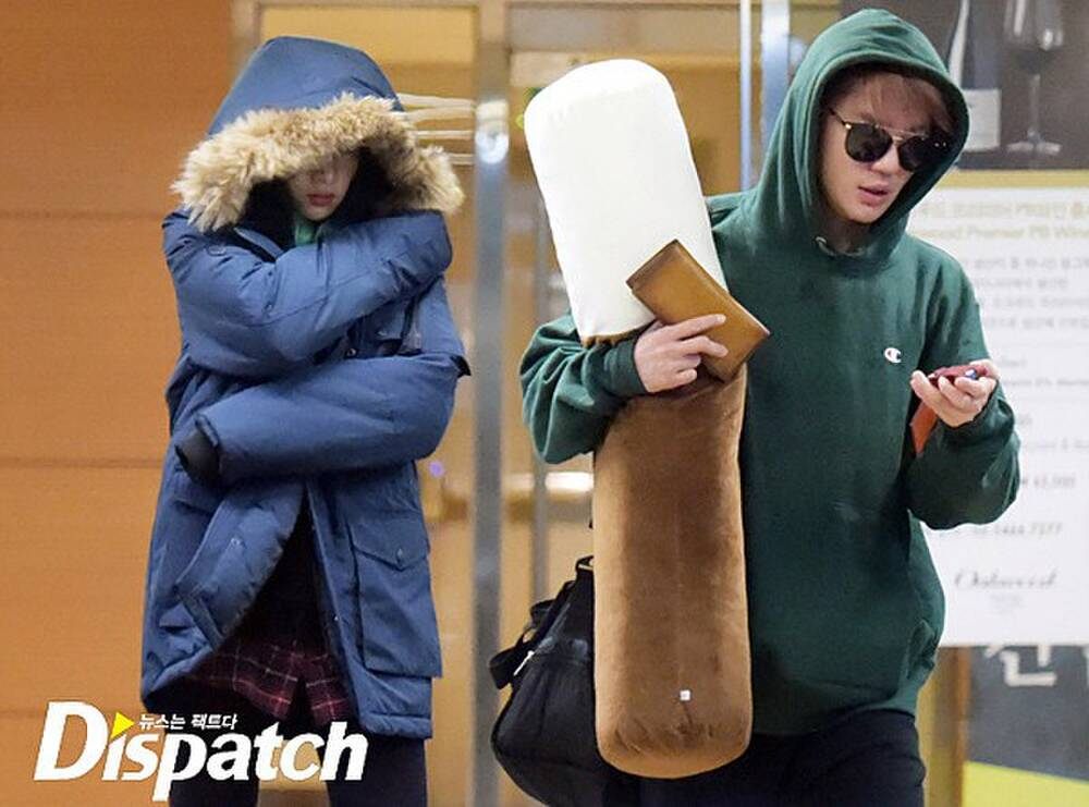 The list of Korean couples revealed by Dispatch, including breakups and being happy. 13