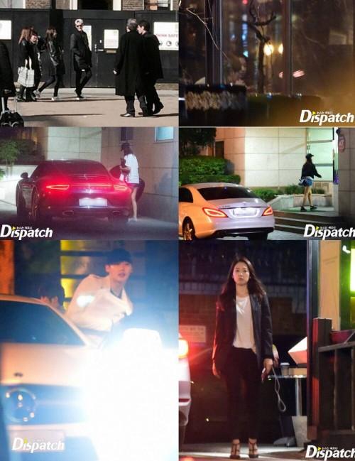 Lee Jong Suk and Park Shin Hye Although Dispatch had evidence, Lee Jong Suk and Park Shin Hye's side denied it.