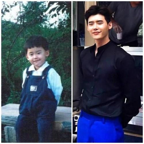 Lee Jong Suk childhood