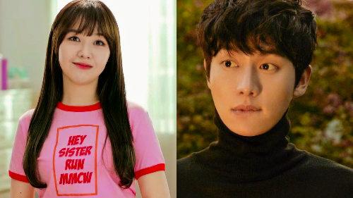 Girls Day Minah and Kwon Hwa Woon