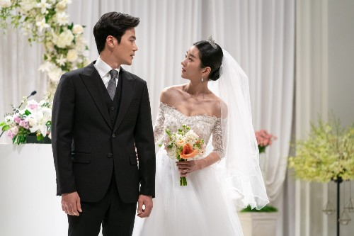 Seo Ye Ji and Kim Kang Woo