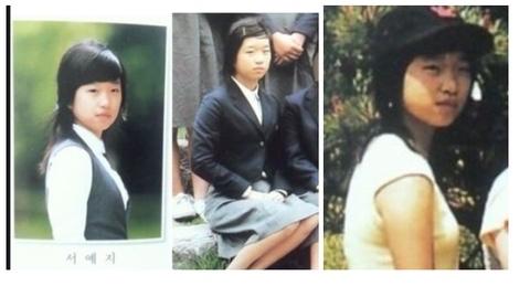 Korean media has revealed the evidence of Seo Ye Ji plastic surgery from her childhood worship photos! 2