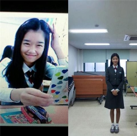 Korean media uncovered evidence of Seo Ye Ji's plastic surgery from her childhood worship photos! 3