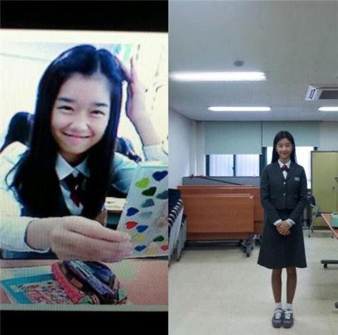 Korean media has revealed the evidence of Seo Ye Ji plastic surgery from her childhood worship photos! 3