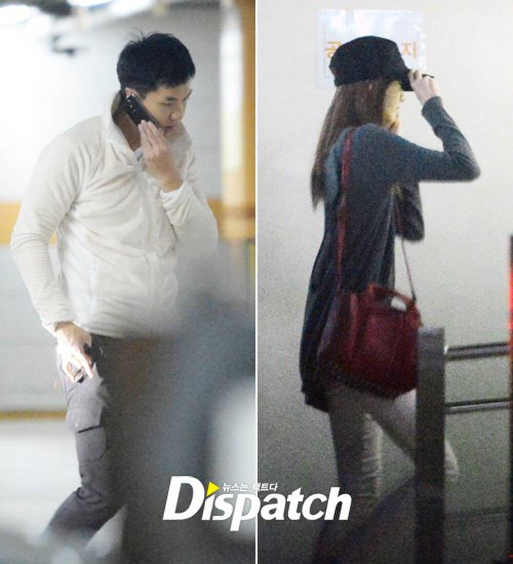 The list of Korean couples revealed by Dispatch, including breakups and being happy. 5