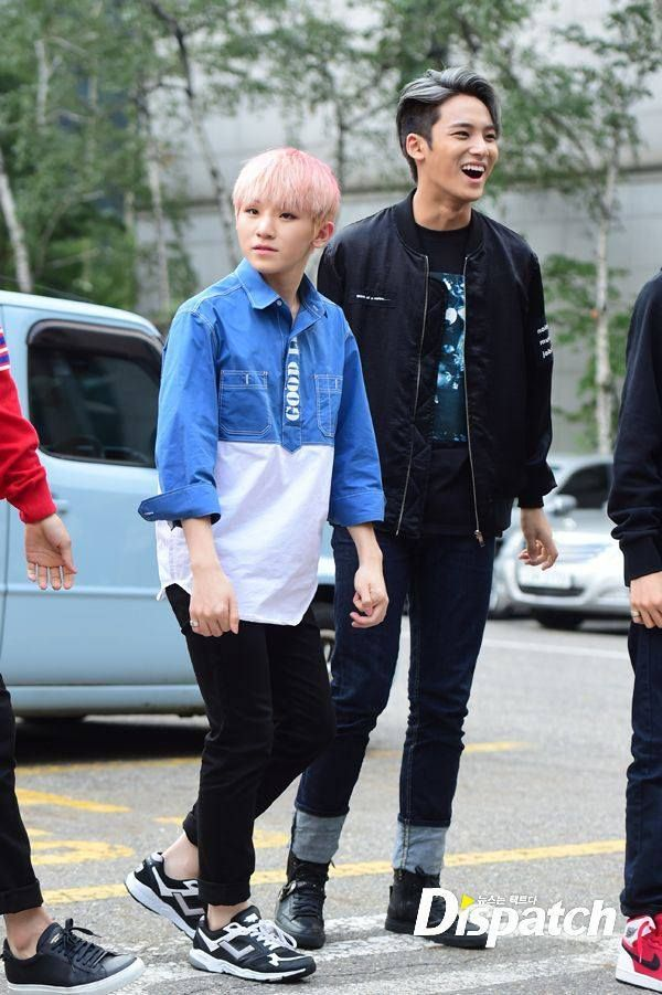 SEVENTEEN Woozi and Mingyu