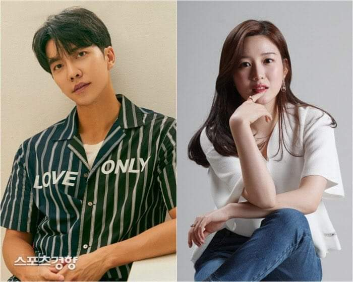 Lee Seung Gi and Lee Da In Dating