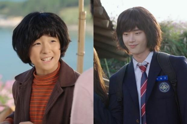 """Nam Da Reum As Young Lee Jong Suk in """"Pinocchio"""""""