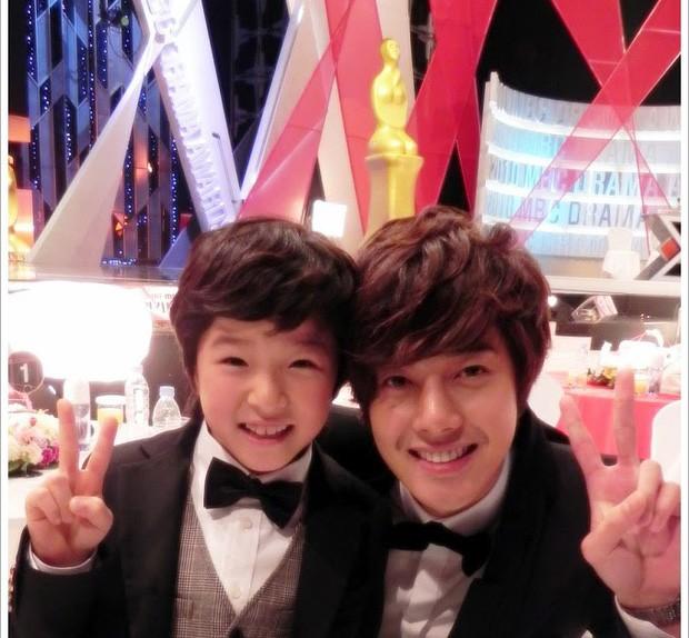 Nam Da Reum and Kim Hyun Joong
