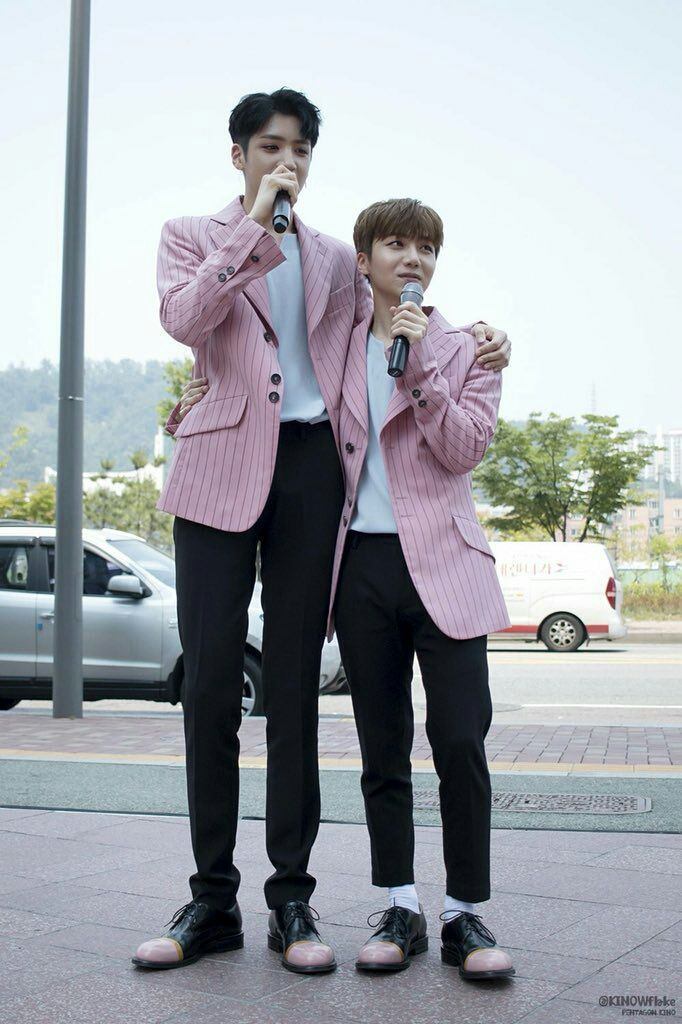 PENTAGON Jinho and Wooseok