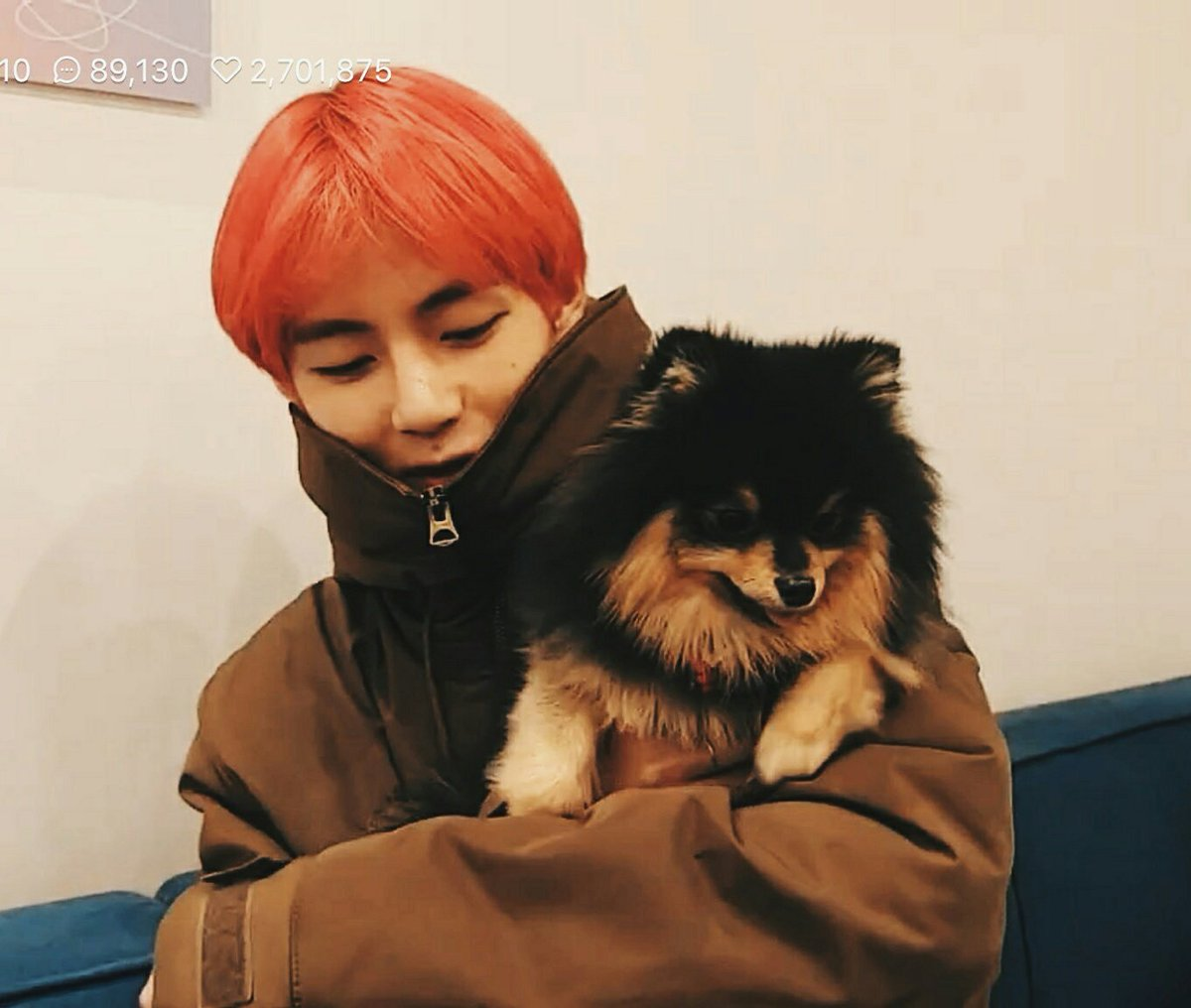 BTS V and Yeon-Tan