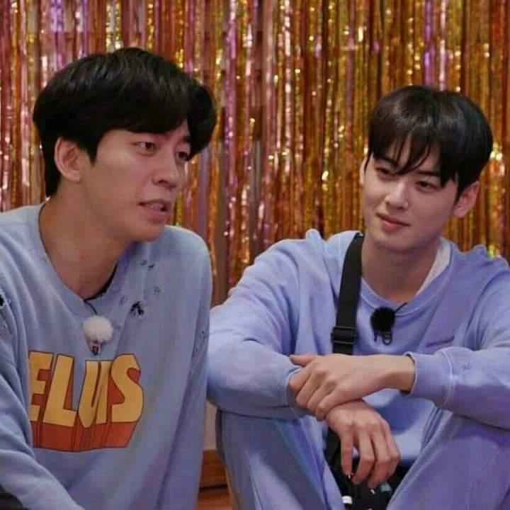 Cha Eun Woo and Shin Sung Rok