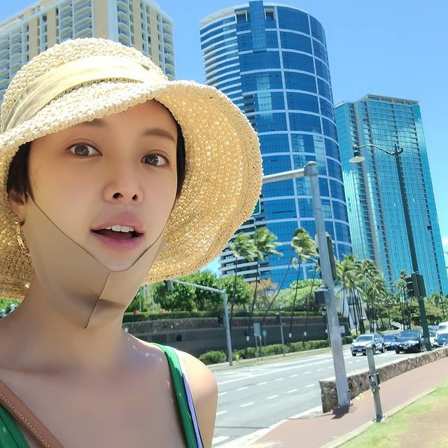 HOT- Hwang Jung Eum and her husband decided to get back together, withdraw the divorce after returning from a trip abroad to Hawaii together. 1