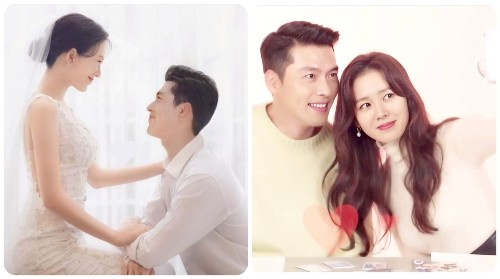 Hyun Bin - Son Ye Jin with a 16-year journey from the first meeting to falling in love and about getting married.