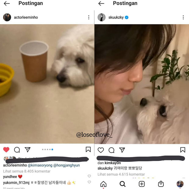 """Not in love with Kim Go Eun, Lee Min Ho spotted """"hint"""" to go back to dating ex-girlfriend Suzy on social media? 4"""