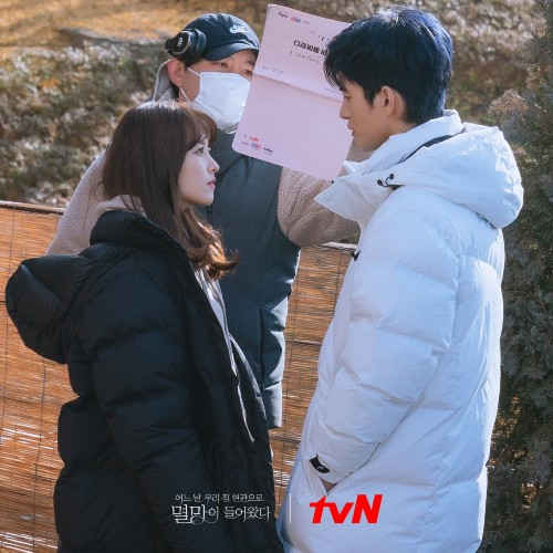 """Park Bo Young and Seo In Guk Show Love To Melt Fans Behind """"Doom At Your Service""""! 6"""