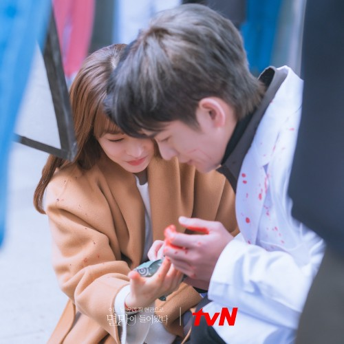 """Park Bo Young and Seo In Guk Show Love To Melt Fans Behind """"Doom At Your Service""""! 1"""