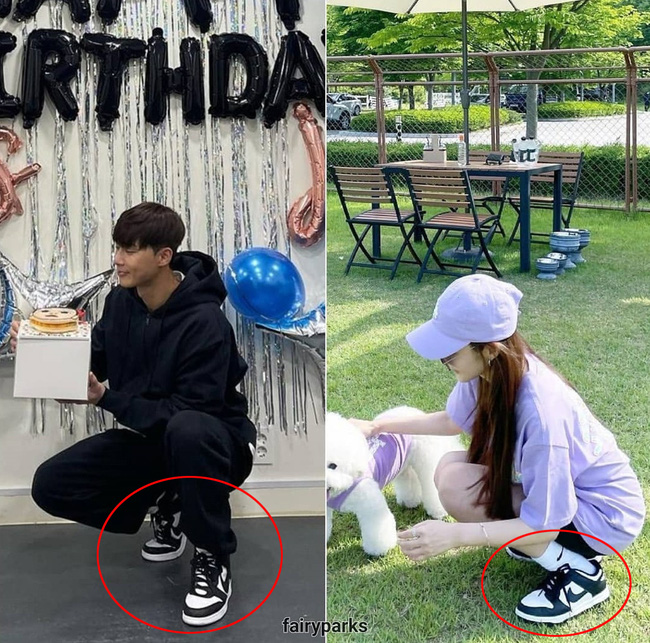 Park Min Young and Park Seo Joon spotted continue to secretly date, wear couple shoes together! 2
